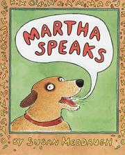 Cover of: Martha Speaks