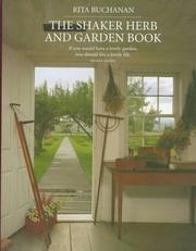 Cover of: The Shaker herb and garden book