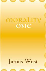 Cover of: Morality One