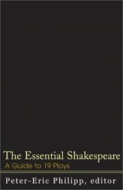 Cover of: The Essential Shakespeare