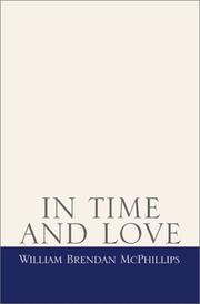 Cover of: In Time and Love