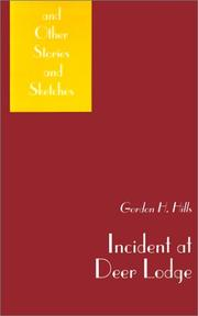 Cover of: Incident at Deer Lodge