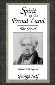 Cover of: Spirit of the Proud Land | George Self