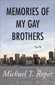 Cover of: Memories of My Gay Brothers | Michael T. Roper