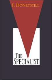 Cover of: The Specialist