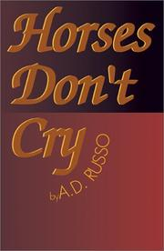 Cover of: Horses Don't Cry