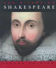 Cover of: The Riverside Shakespeare | William Shakespeare