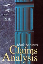Cover of: Claims Analysis