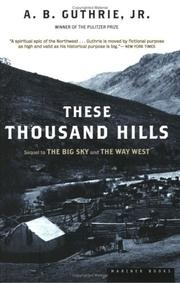 Cover of: These thousand hills
