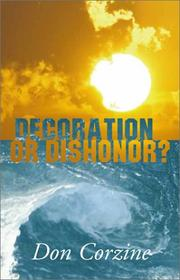 Cover of: Decoration or Dishonor