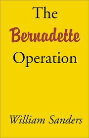Cover of: The Bernadette Operation