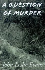 Cover of: A Question of Murder