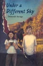 Cover of: Under a different sky