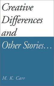 Cover of: Creative Differences and Other Stories