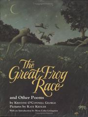 Cover of: great frog race and other poems | Kristine O