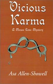 Cover of: Vicious Karma | Asa Allen-Showell