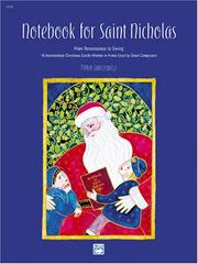 Cover of: Notebook for Saint Nicholas