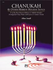 Cover of: Chanukah and Other Hebrew Holiday Songs