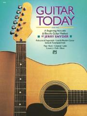 Cover of: Guitar Today, Book 2