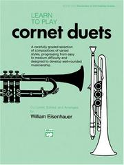 Cover of: Learn to Play Cornet Duets (Learn to Play)