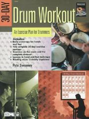 Cover of: 30-day Drum Workout