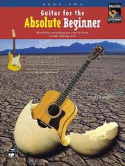 Cover of: Guitar for the Absolute Beginner, Book 2