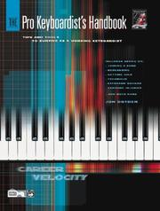 Cover of: The Pro Keyboardist's Handbook