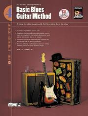Cover of: Basic Blues Guitar Method