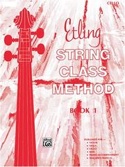 Cover of: Etling String Class Method, Book 1