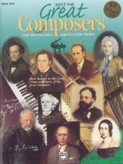 Cover of: Meet the Great Composers (Learning Link) | June Montgomery