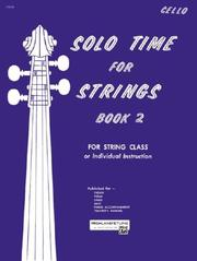 Cover of: Solo Time for Strings, Book 2