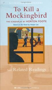 Cover of: To Kill a Mockingbird and Related Readings (Literature Connections)