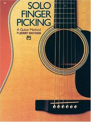 Cover of: Solo Finger Picking