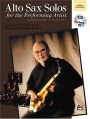 Cover of: Alto Sax Solos for the Performing Artist