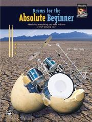Cover of: Drums for the Absolute Beginner
