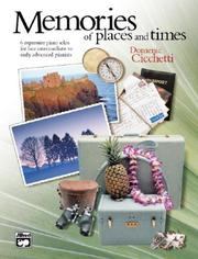 Cover of: Memories of Places and Times
