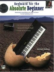 Cover of: Keyboard for the Absolute Beginner | Michael Rodman
