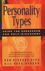 Cover of: Personality types