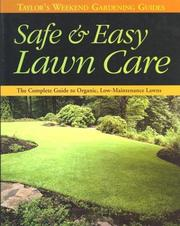 Cover of: Safe & easy lawn care |