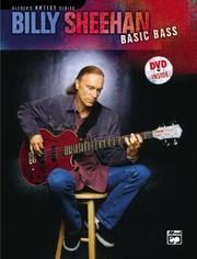 Cover of: Billy Sheehan Basic Bass (Alfred's Artist Series)