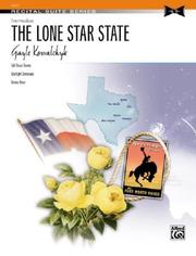 Cover of: The Lone Star State (Recital Suite)