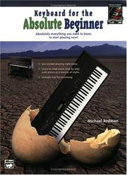 Cover of: Keyboard for the Absolute Beginner
