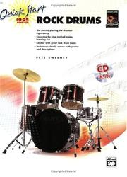Cover of: Quick Start Rock Drums