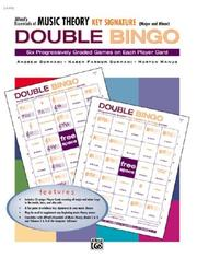 Cover of: Essentials of Music Theory: Double Bingo Game -- Key Signature | Karen Surmani