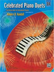 Cover of: Celebrated Piano Duets, Book 4 | Robert Vandall