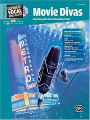 Cover of: Ultimate Sing-Along Female Voice Broadway Divas (Book & CD) (Ultimate Vocal Sing-Along) | Alfred Publishing