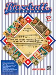 Cover of: The Baseball Songbook