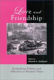 Cover of: Love and Friendship