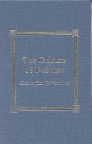 Cover of: The Culture of Defense
