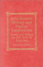 Cover of: Indo-Russian Military and Nuclear Cooperation